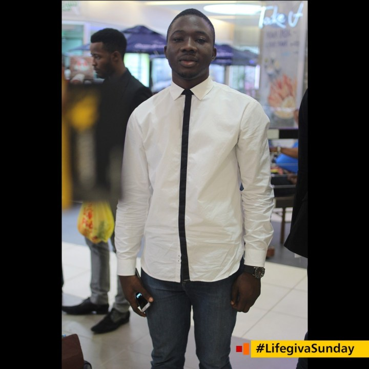 Taiye Bello - I'm saved by grace and made righteous by faith in Jesus -#LifegivaSunday