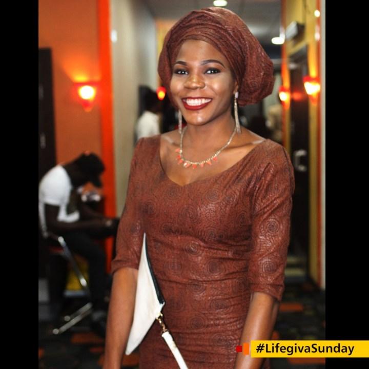Jojolola: I was late and shy to enter. #LifegivaSunday
