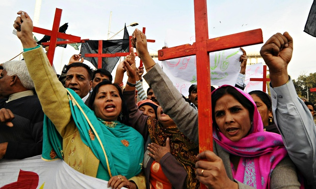 Members of the Pakistan Christian