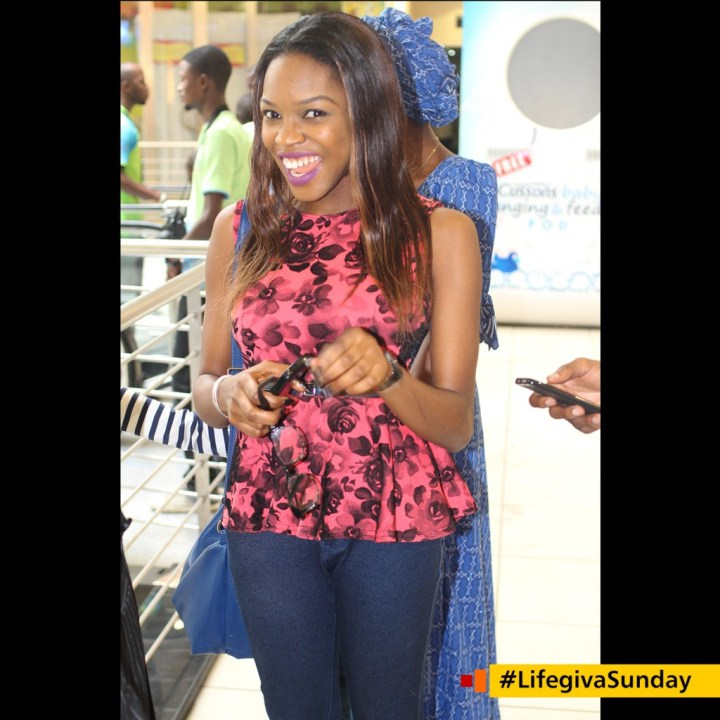 Zoey - Service was good. I learnt thayt worship is something a believer should do everytime and take seriously. #LifegivaSunday