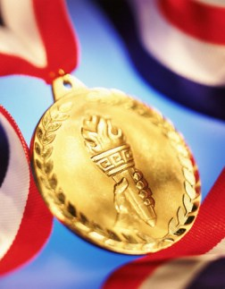 Gold medal --- Image by © Thom Lang/CORBIS