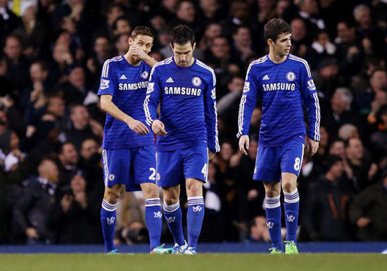 Dejected-Chelsea-players