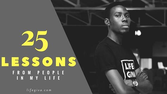 25 lessons oludapo tolulope