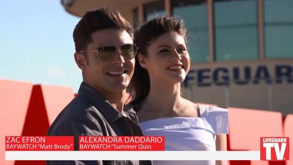 Baywatch Australia Premiere Zac Efron Alexandra Daddario