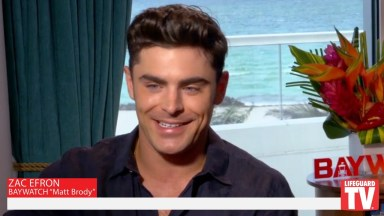 Zac Efron Baywatch Movie 2017