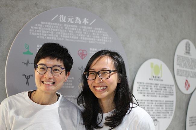 Winnie Mak(左)及StoryTaler另一位創辦人Amanda Li(圖:說書人)