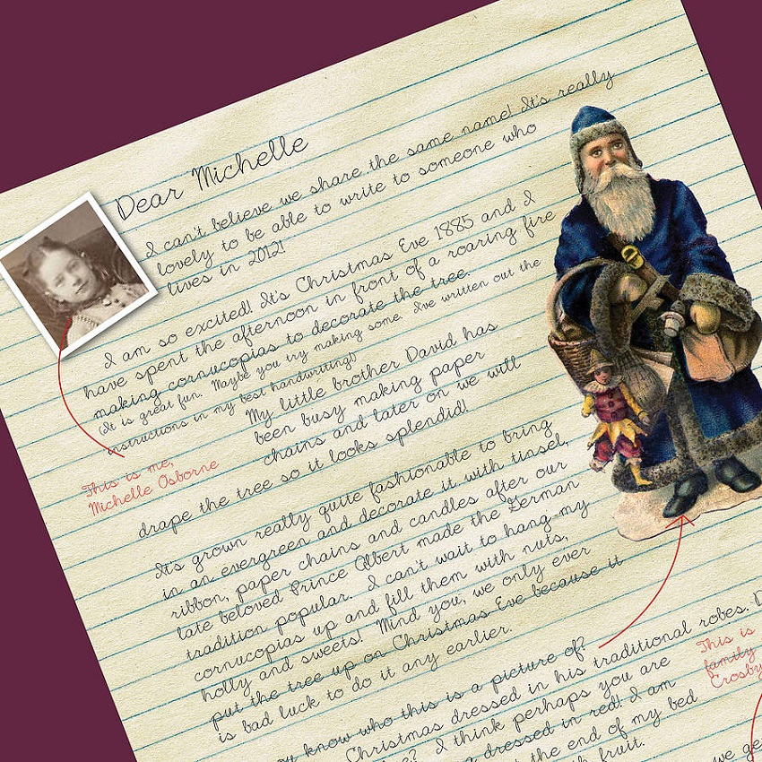 A Few Home Truths Letter from a Victorian Child at Christmas