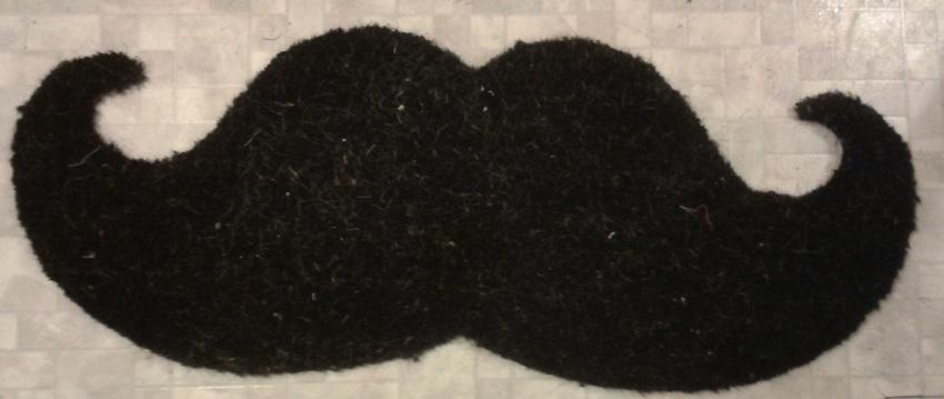 Moustache Doormat