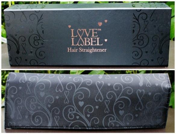 Love Label Hair Straighteners