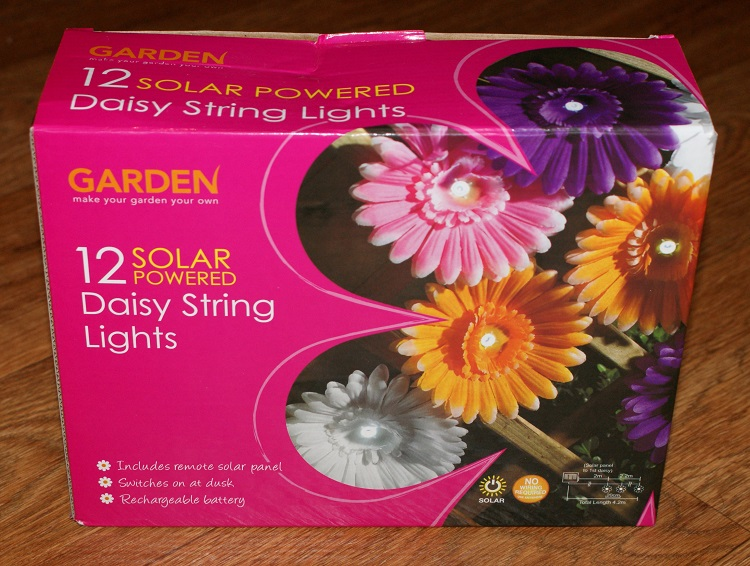 Daisy Chain Lights From Home Bargains Life In A Break Down