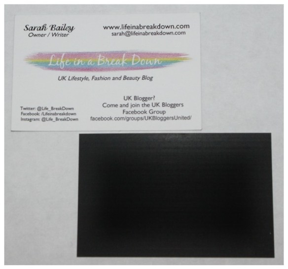 123print Magnetic Business Cards Review And Giveaway Life In A
