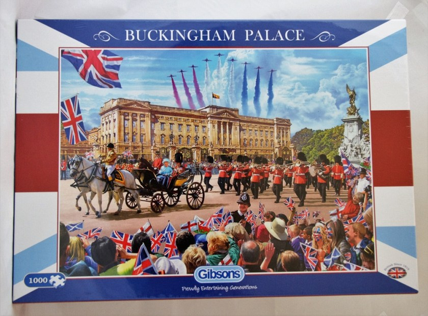 Gibsons - Buckingham Palace Puzzle: Review