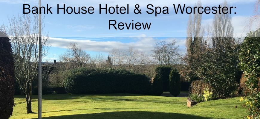 Bank House Hotel & Spa Worcester Outside View