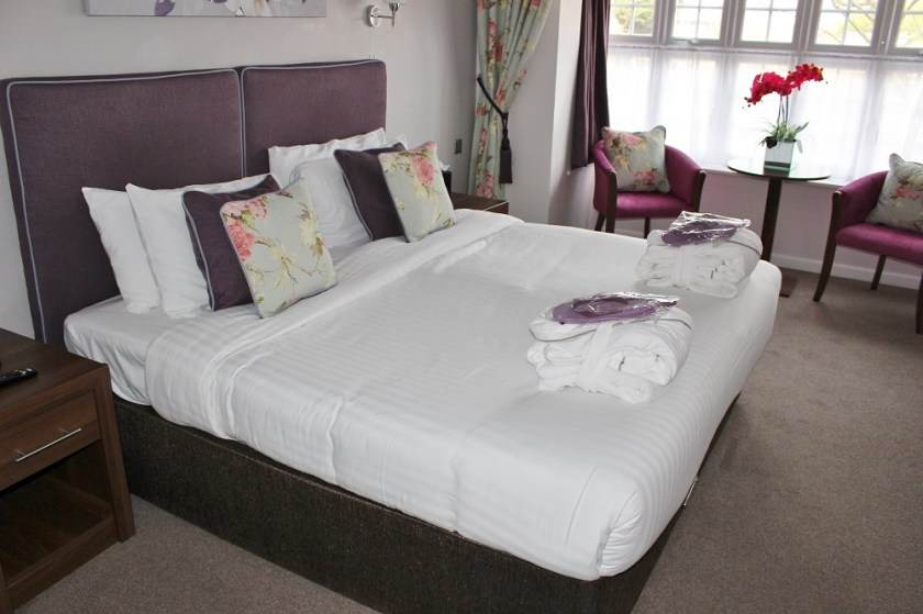 Bank House Hotel & Spa Worcester Room - Bed View