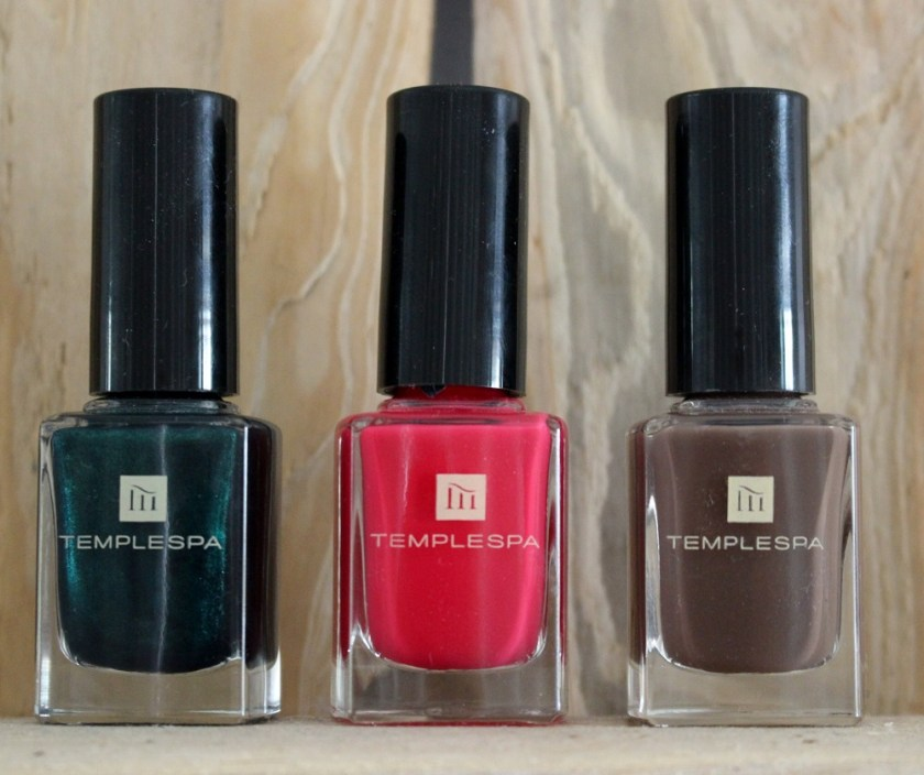 After Dark Nail Polish Collection from Temple Spa