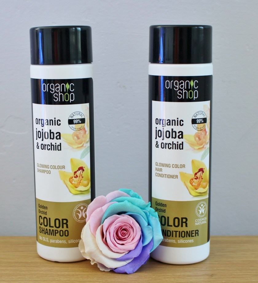 Organic Shop Organic Jojoba and Orchid Color Shampoo conditioner