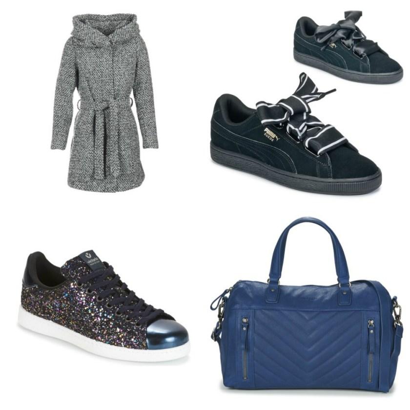 Fashion Picks for November VICAMA Grey Basket Heart Satin Black DEPORTIVO BASKET GLITTER MARINE Nat et Nin PANAMA Blue