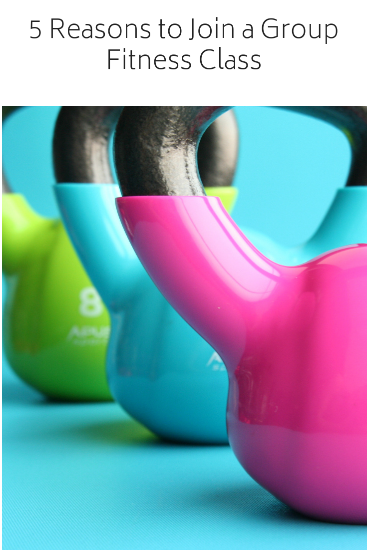 5 Reasons to Join a Group Fitness Class