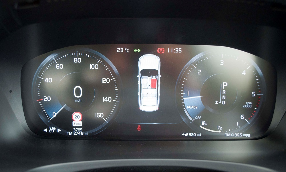 Volvo S90 Drivers Dash