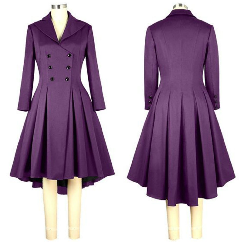 Chic Star Plus Size Purple Jacket