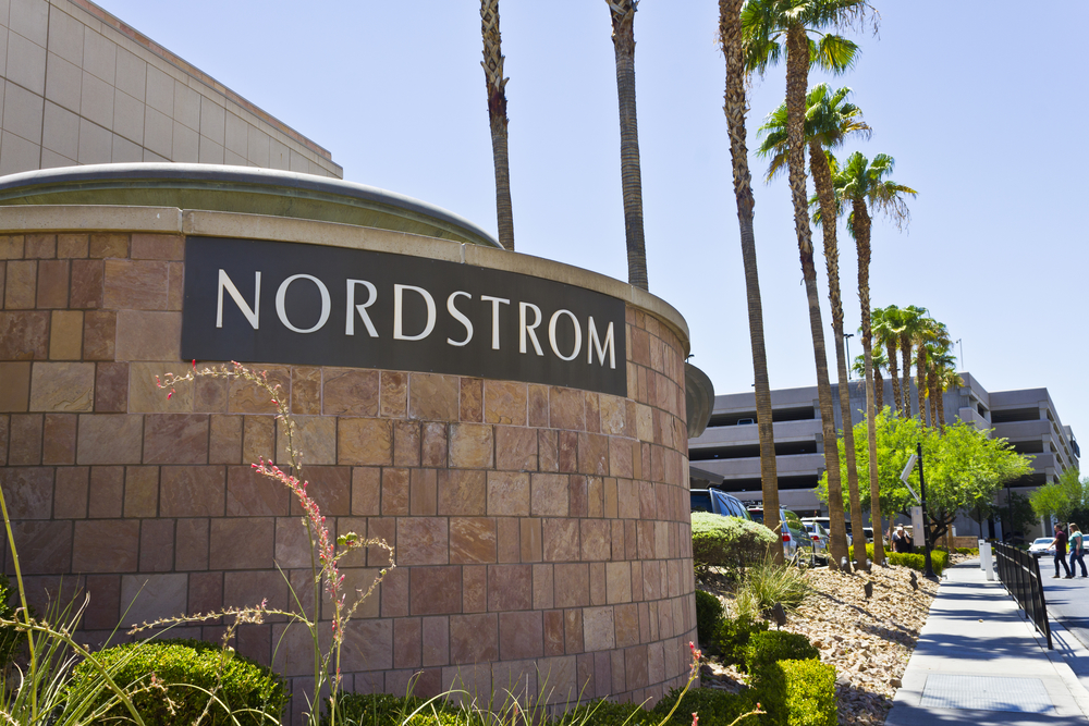 Las Vegas - Circa July 2016: Nordstrom Retai Mall Location. Nordstrom is Known for its Service and Fashion I