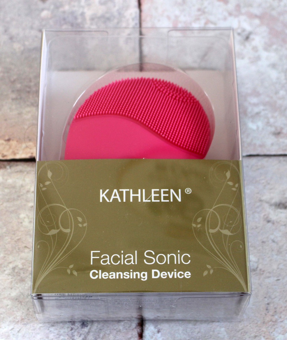 Kathleen Facial Sonic Cleansing Device Review