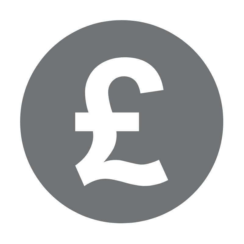 Grey pound sign vector