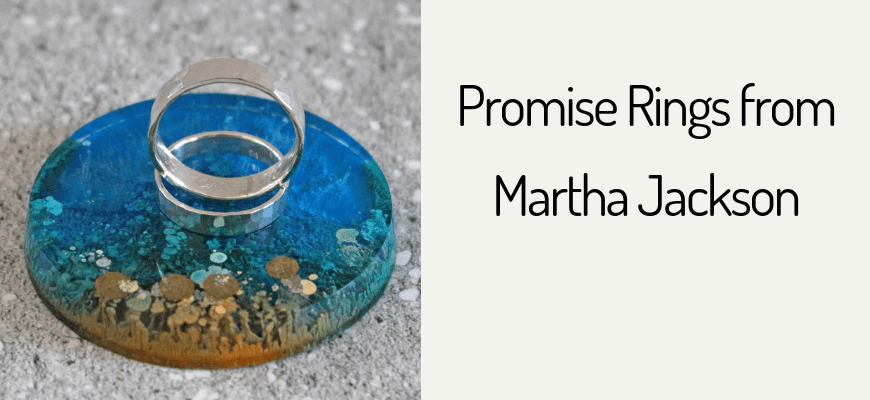 Promise Rings from Martha Jackson