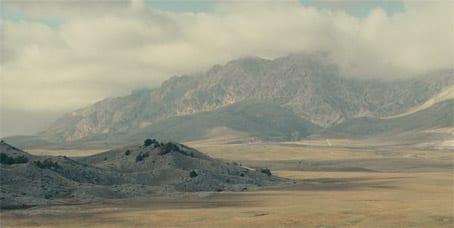 Campo Imperatore; still from the film 'The American'