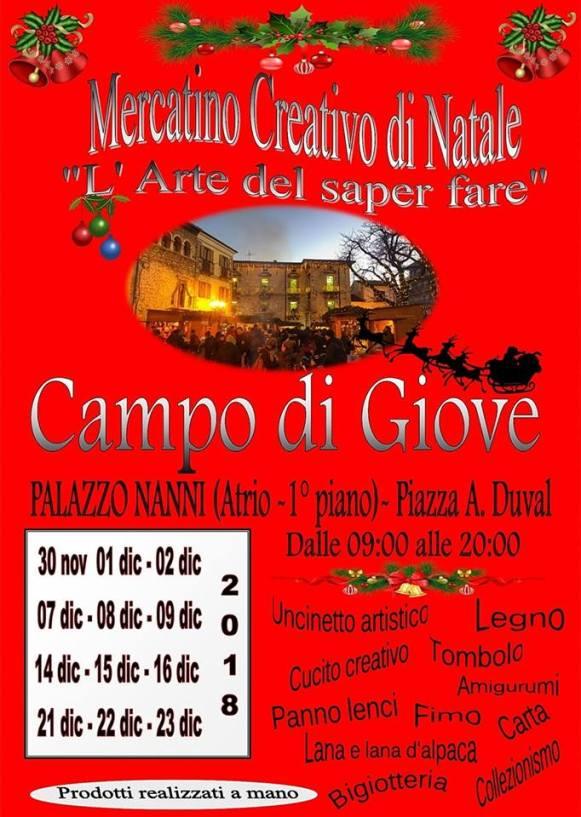 Campo di Giove Christmas Market