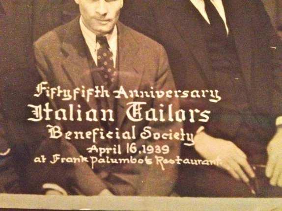 03 Italian Tailors dinner