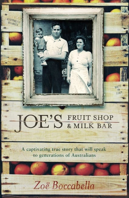 Joe's Fruit Shop and Milk Bar by Zoe Boccabella