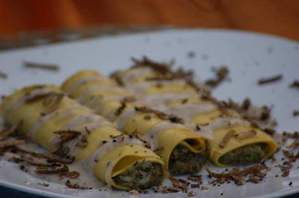 White Ragu & Truffle Cannelloni