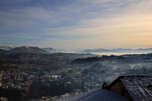 Winter Abruzzo by Pete Austin