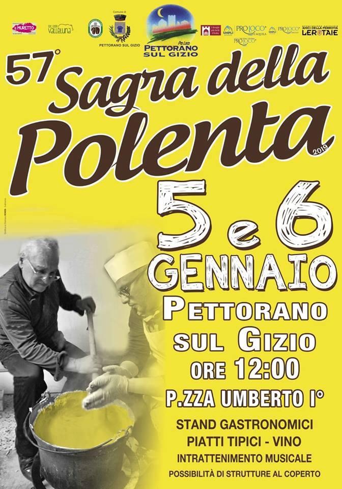 Sagra della Polenta Ragnosa at Pettorano sul Gizio