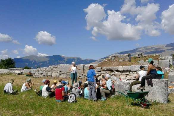 Archaeological excavations at