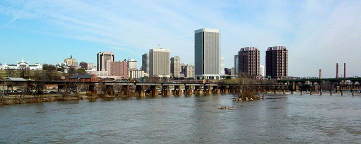 Richmond, VA #RVA Skyline