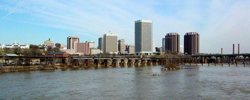 Richmond, VA #RVA Skyline