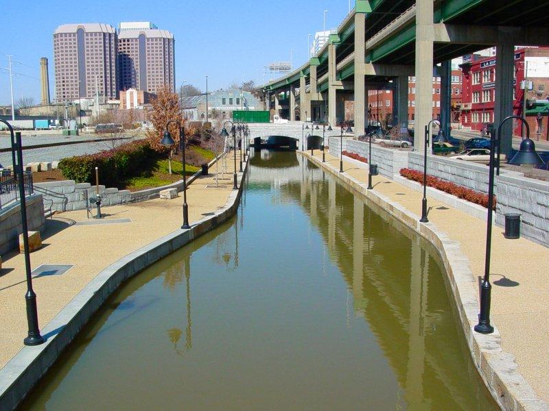 Canal Walk, Downtown Richmond VA