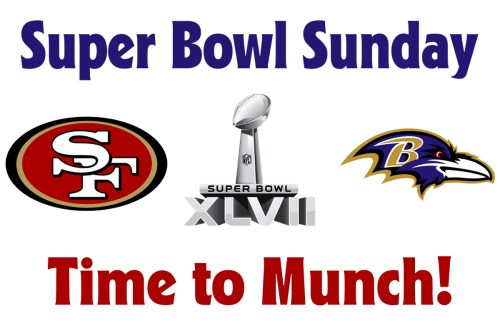 Super Bowl Sunday – Time to Munch!