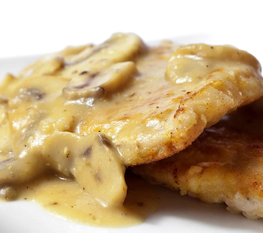 Chicken in Mushroom Gravy
