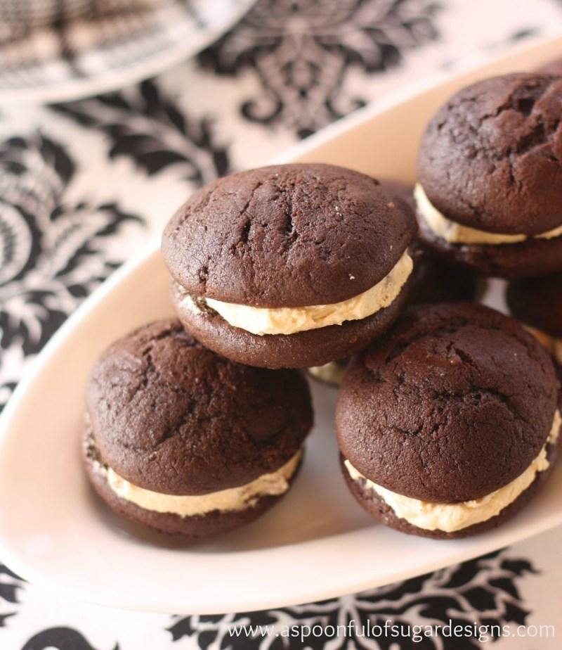 Mom's Chocolate Whoopie Pies
