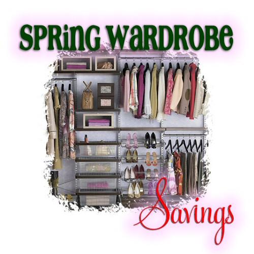 spring wardrobe savings