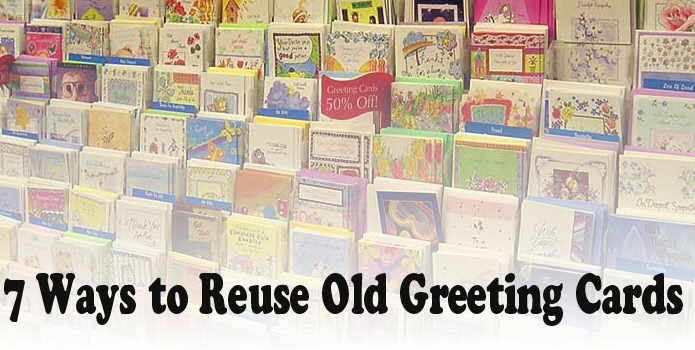 7 Ways to Reuse Old Greeting Cards - Life in a House of Testosterone