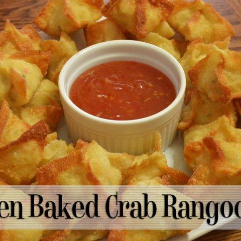 Oven Baked Crab Rangoons