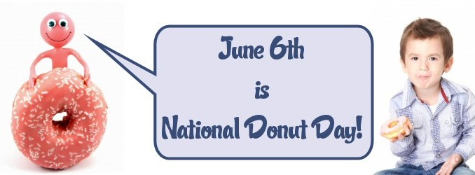 June 6 is National Donut Day!