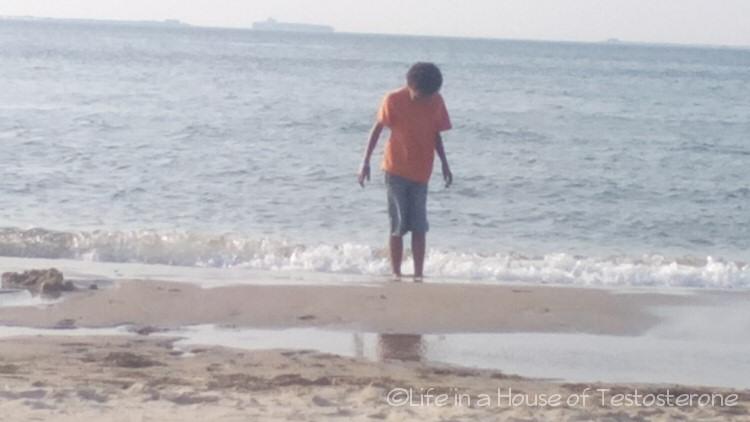 Communing with the Atlantic Ocean