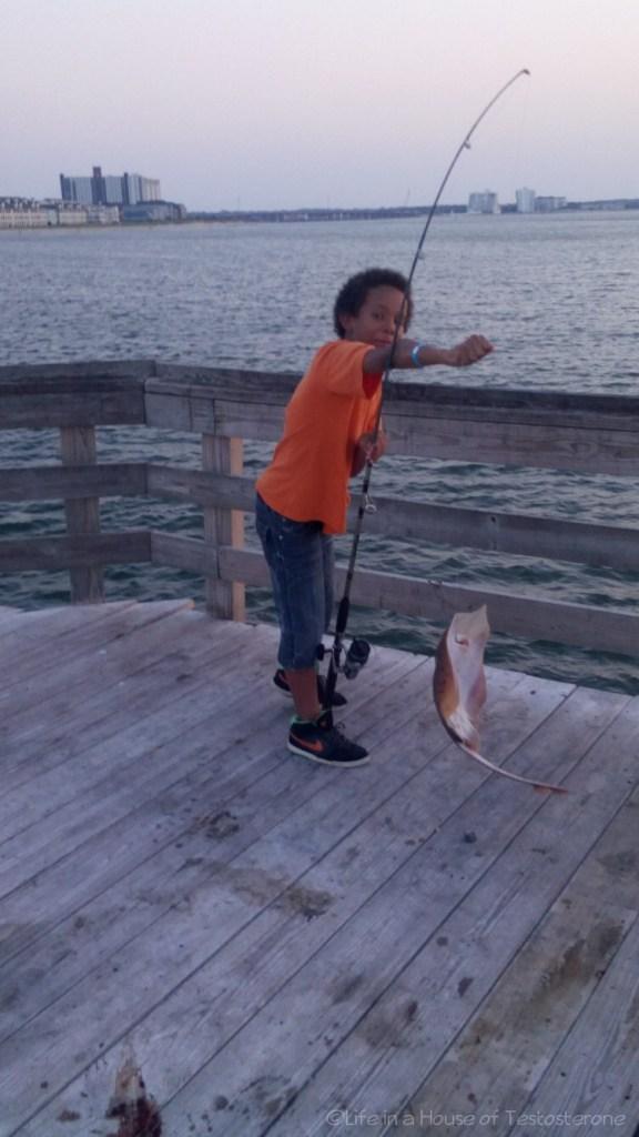 Proud Little Fisherman!