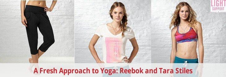 A Fresh Approach to Yoga: Reebok and Tara Stiles