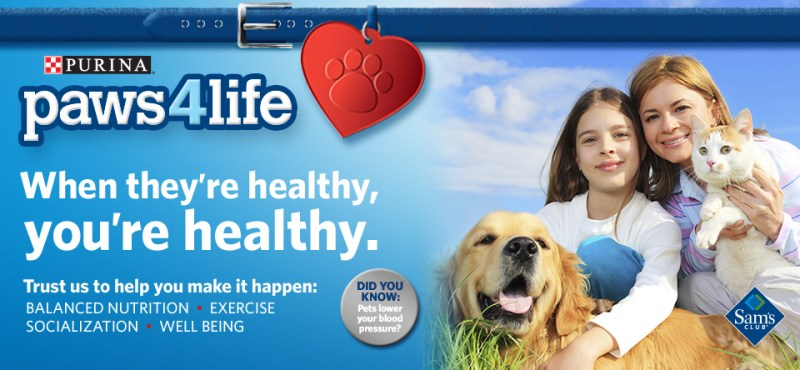 Take the Purina® Paws 4 Life Pledge With Molly and I